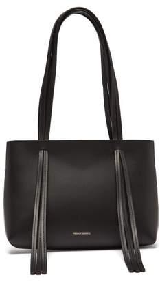 Mansur Gavriel Mini Fringe Leather Tote Bag - Womens - Black