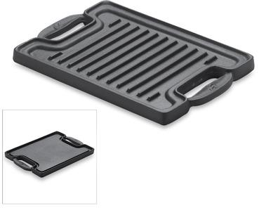 Emerilware Emerilware™ Cast Iron Single Burner Reversible Grill/Griddle