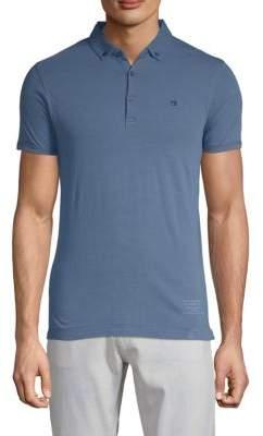 Scotch & Soda Short-Sleeve Cotton Polo