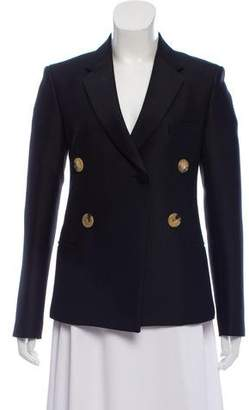 Celine Notched-Lapel Double-Breasted Blazer