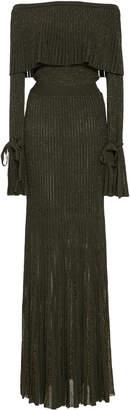Elie Saab Off The Shoulder Dress