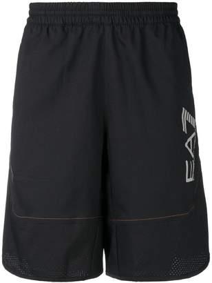 Emporio Armani Ea7 logo print swim shorts