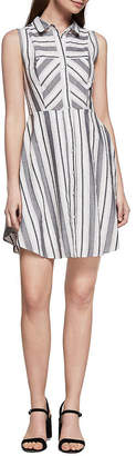 BCBGeneration Striped Shirtdress