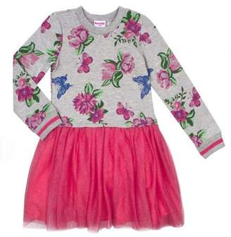 Nannette Long Sleeve Floral Sweatshirt & Tutu Dress (Toddler Girls)