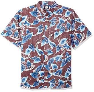 Reyn Spooner Men's Food & Wine Spooner Kloth Classic Fit Shirt