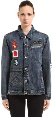 We Are Our Choices Washed Denim Jacket