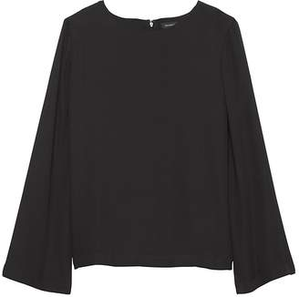 Banana Republic Solid Bell-Sleeve Top