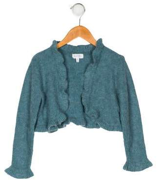 Rachel Riley Girls' Wool & Alpaca-Blend Cardigan