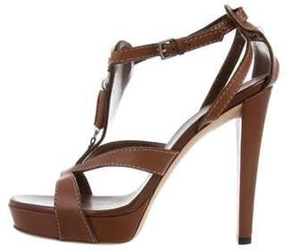Gucci Platform Ankle Strap Sandals