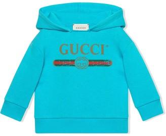 Gucci Kids Baby sweatshirt with logo
