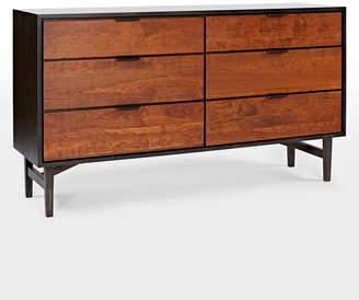 Rejuvenation Cascade 6 Drawer Dresser
