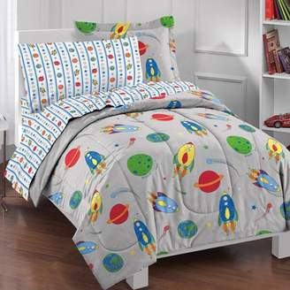Factory Dream Space Rocket Complete Bed in a Bag Bedding Set