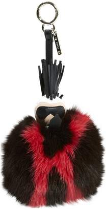 Fendi Karlito Brown Fur Bag charms