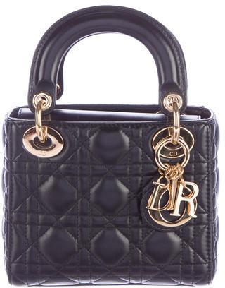 Christian Dior Mini Cannage Lady Dior Bag $1,595 thestylecure.com