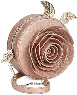 Disney By Danielle Nicole Beauty And The Beast Rose Crossbody $58 thestylecure.com