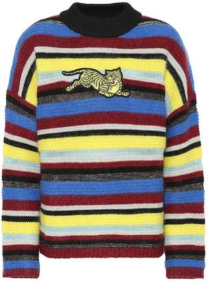 Kenzo Striped wool-blend sweater