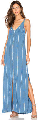 Bella Dahl Pleat Back Maxi Dress