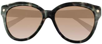 8f36cf8af82d9 Amanda Wakeley The Chelsea Charcoal Tortoiseshell Sunglasses