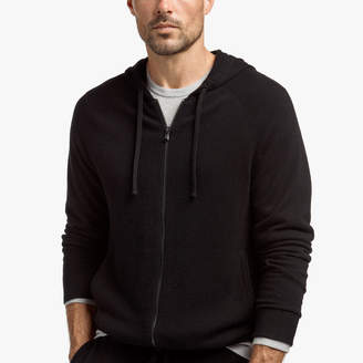 James Perse BABY CASHMERE TRACK JACKET