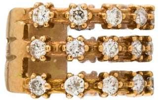 Sara Weinstock 18K Diamond Single Ear Cuff