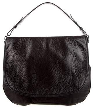 Calvin Klein Collection Leather Flap Bag
