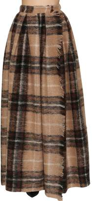 Max Mara Wool Alpaca Long Skirt