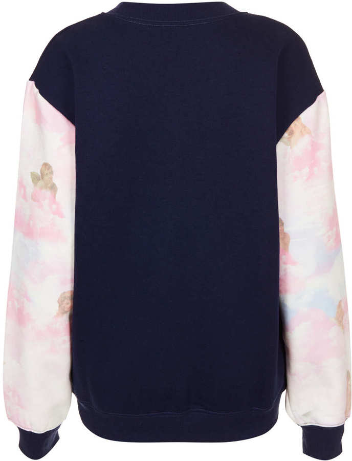 Topshop Angels Sweat By Tee And Cake