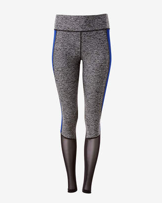 Express Exp Core Print Mesh Panel Leggings