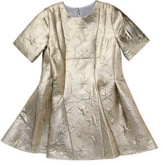 Christian Dior Stars Crewneck Dress