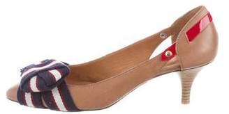 Etoile Isabel Marant Leather Bow Pumps