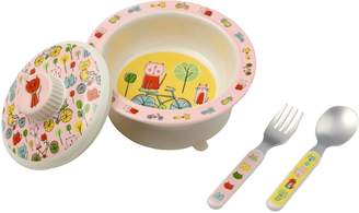 SugarBooger Covered Suction Bowl Set