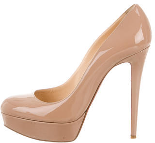 Christian Louboutin  Christian Louboutin Patent Leather Bianca Pumps