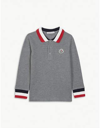 6d0c26f4f Moncler Long Sleeve Polo - ShopStyle UK
