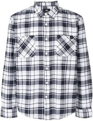 Edwin check long-sleeve shirt