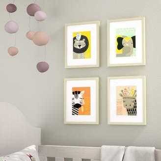 Viv + Rae Gwen 4 Piece Explorer Animals Framed Paper Print Set