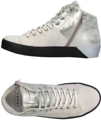 Leather Crown High-tops & sneakers - Item 11380658