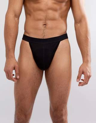 Asos Tanga Briefs In Black