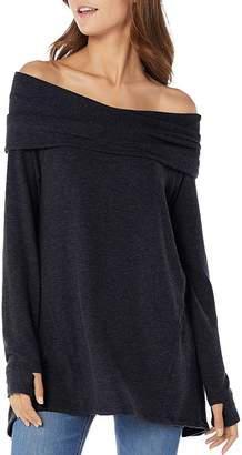 Michael Stars Off-the-Shoulder Thumbhole Top