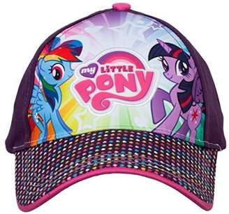 My Little Pony Berkshire Fashions Hasbro Twilight Sparkle and Rainbow Dash Baseball Cap, 3-6 Years