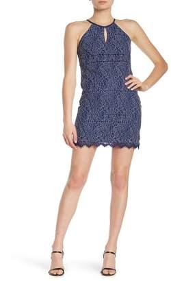Heartloom Evelyn Keyhole Lace Sheath Dress