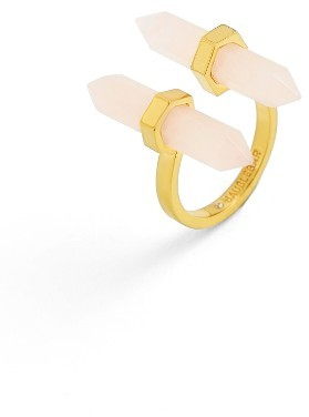 Women's Baublebar Faden Quartz Open Ring $32 thestylecure.com