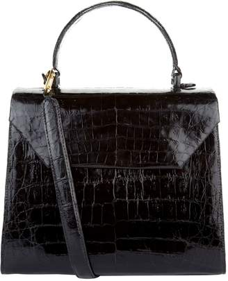 Nancy Gonzalez Medium Crocodile Lily Cross Body Bag