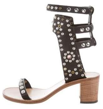 Isabel Marant Elvis Embellished Sandals