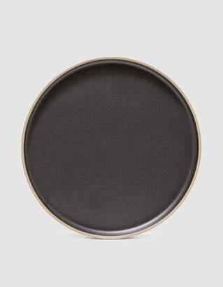 Hasami Porcelain 11 in. Plate in Black
