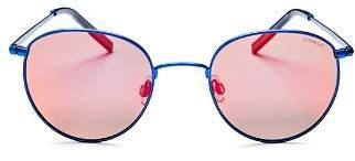 Polaroid Men's Polarized Round Sunglasses, 51mm