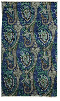 Suzani Collection Oriental Rug, 5' x 8'6