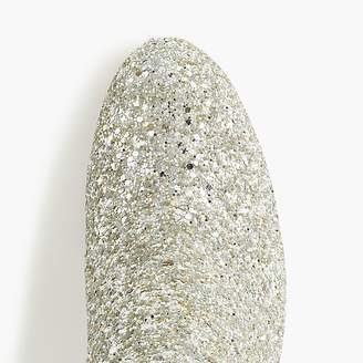 J.Crew Sadie ankle boots in glitter