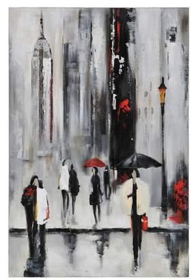 Ren Wil RENWIL Bustling City I Canvas Wall Art