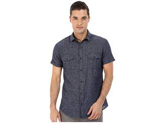 Mavi Jeans Short Sleeve Button Down Shirt Men's Clothing