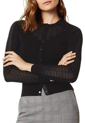 Karen Millen Sheer Detail Cardigan